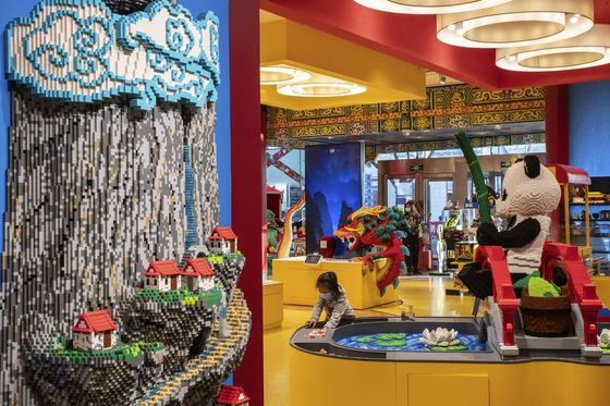 Lego Bets on China's Children With Hundreds of New Stores