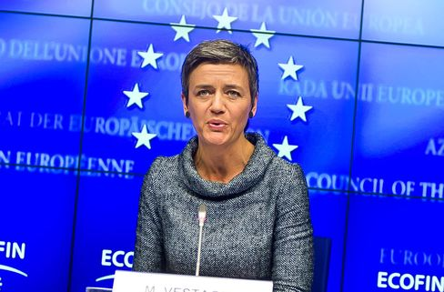 Margrethe Vestager, the bloc's antitrust chief, is seeking to throw the spotlight onto the tax affairs of multinationals across the EU, potentially adding to probes targeting fiscal arrangements of Apple Inc. in Ireland, Starbucks Corp. in the Netherlands and Amazon.com Inc. and a Fiat SpA unit in Luxembourg.