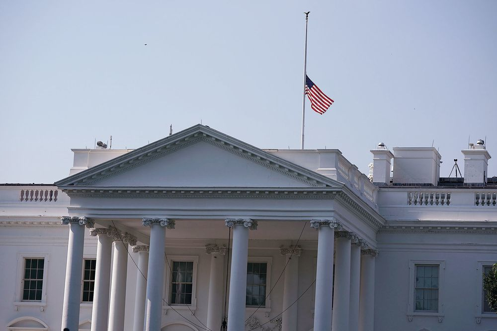 Marvelous Trump Orders Flags Lowered To Honor Slain Journalists In Download Free Architecture Designs Scobabritishbridgeorg