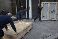 Delivering Art Gallery Crates