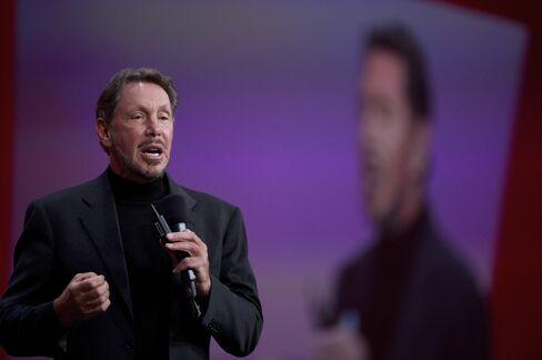 Oracle CEO Larry Ellison