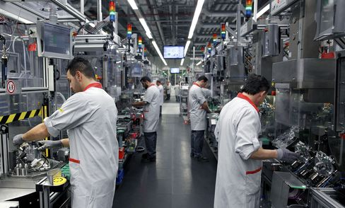 German Industrial Output Rose in February as Economy Recovered