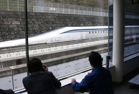 The record-breaking run is part of the tests before JR Central can start commercial operations in 2027 on the Tokyo-Nagoya line, which it's constructing at a cost of 5.52 trillion yen ($47 billion).