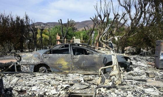 Trump's Tweets on Deadly Fires Prompt Backlash in California