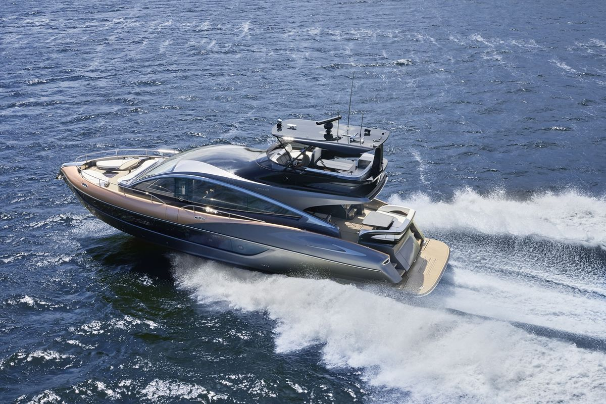 Lexus Drifts From Driveways With Debut of 65-Foot Luxury Yacht