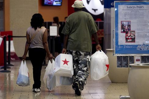 Consumer Comfort in U.S. Advanced Last Week to Seven-Month High