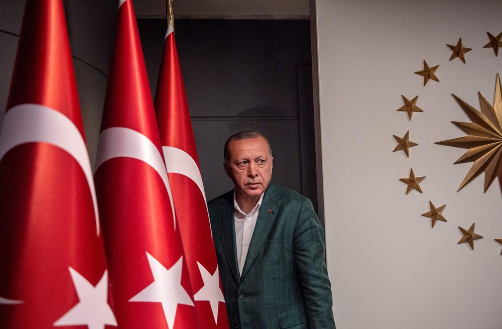 Once-Ubiquitous Erdogan Fades Into Shadows in Istanbul Revote
