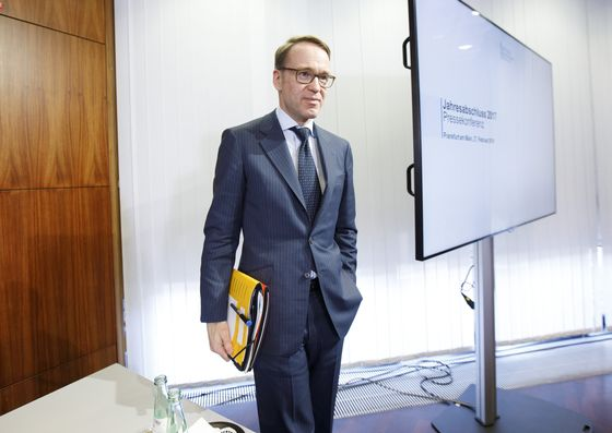 Germany to Extend Weidmann's Contract as Bundesbank President