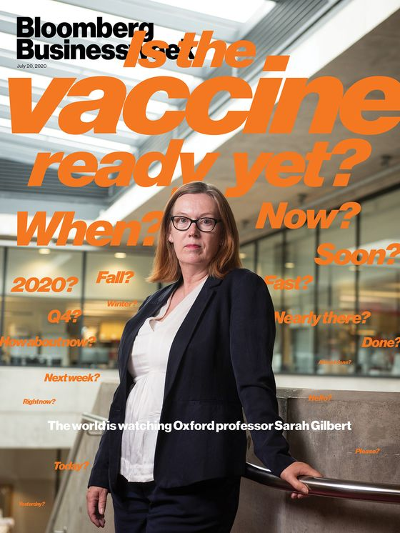 Covid Vaccine Front-Runner Is Months Ahead of Her Competition