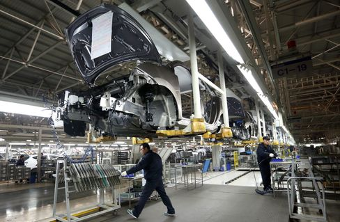 China's Manufacturing Expands at Slower Pace Amid Credit Crunch