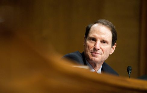 Senator Ron Wyden, a Democrat from Oregon, listens to testimony during a Senate Finance Committee hearing in Washington, D.C., U.S., on Wednesday, July 27, 2011.