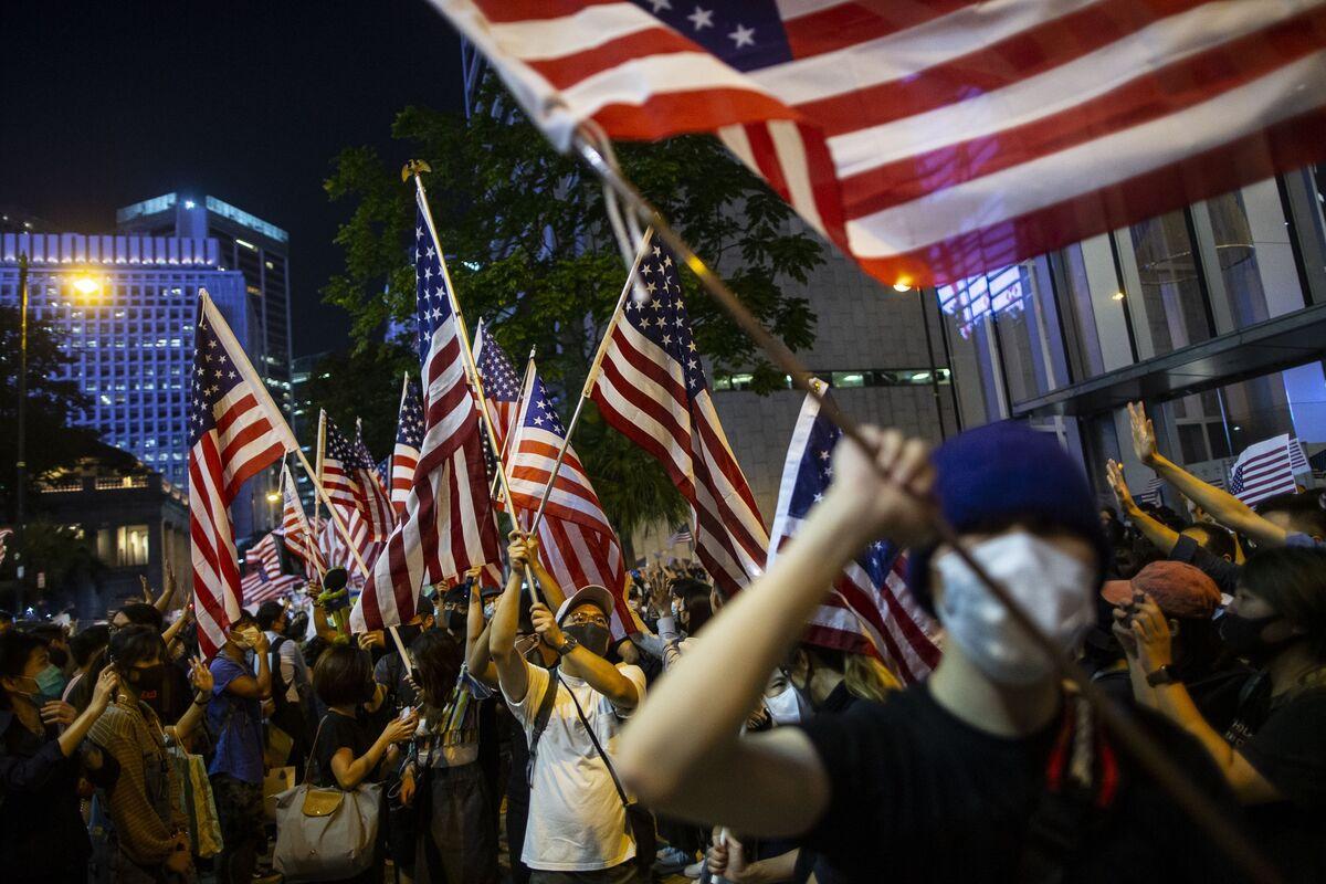 Trump Signs Hong Kong Bill Backing Protesters, Angering China