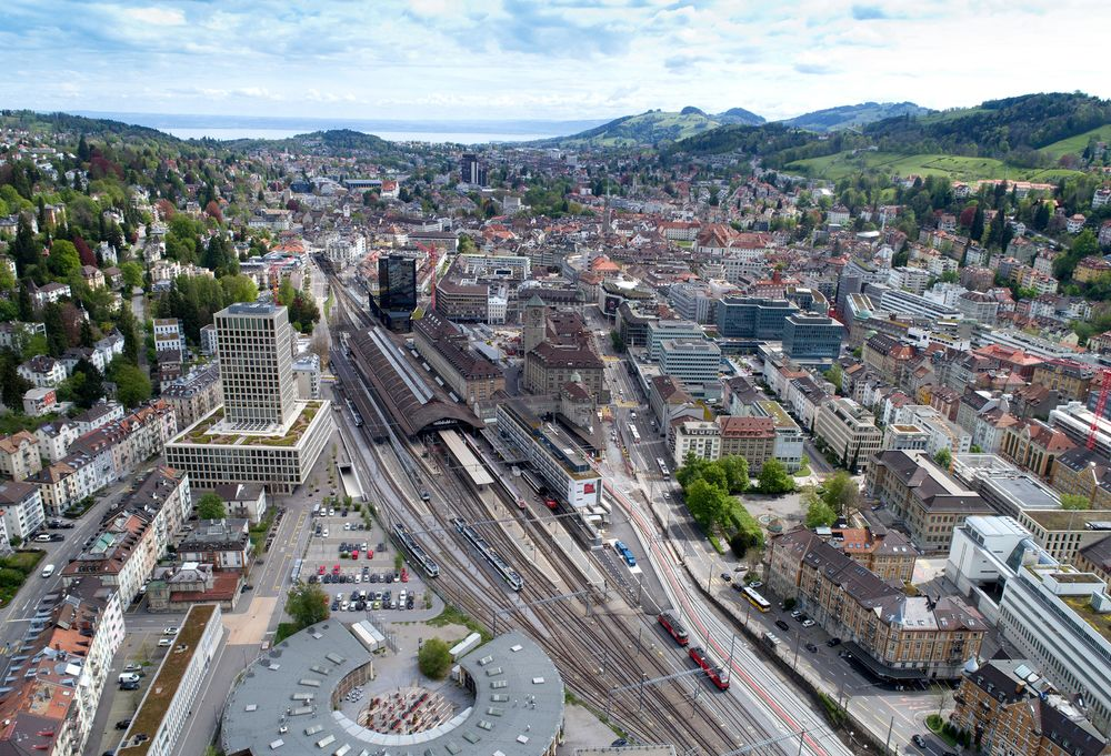 Swiss Rail Service Planning Electric Flying Taxis: Report