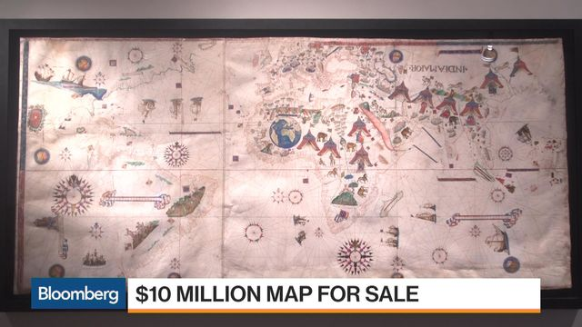 Map Of New York For Sale.The Oldest Map Of New York Is Drawn On Goat Skin Costs 10 Million