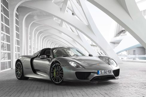 Porsche's supercar, the 918 Spyder, starts at $840,000.