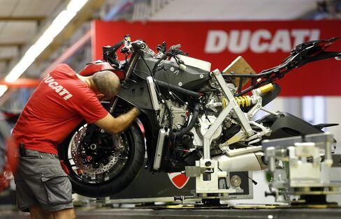 Volkswagen AG's Ducati Unit
