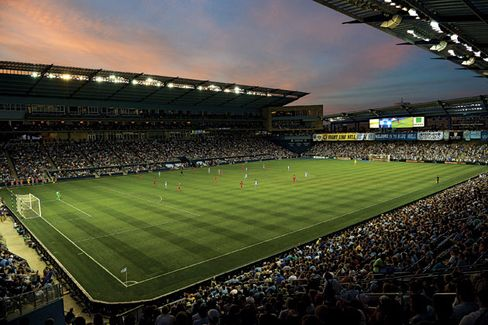 Sporting Kansas City Makes the Stadium More Like Your Couch