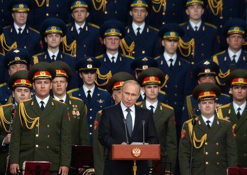 Vladimir Putin Speaks at Army-2015 Today