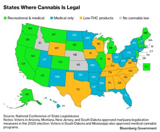 Marijuana Ballot Measures Pass in Five States