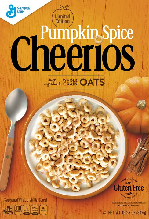 Pumpkin Spice Cheerios.