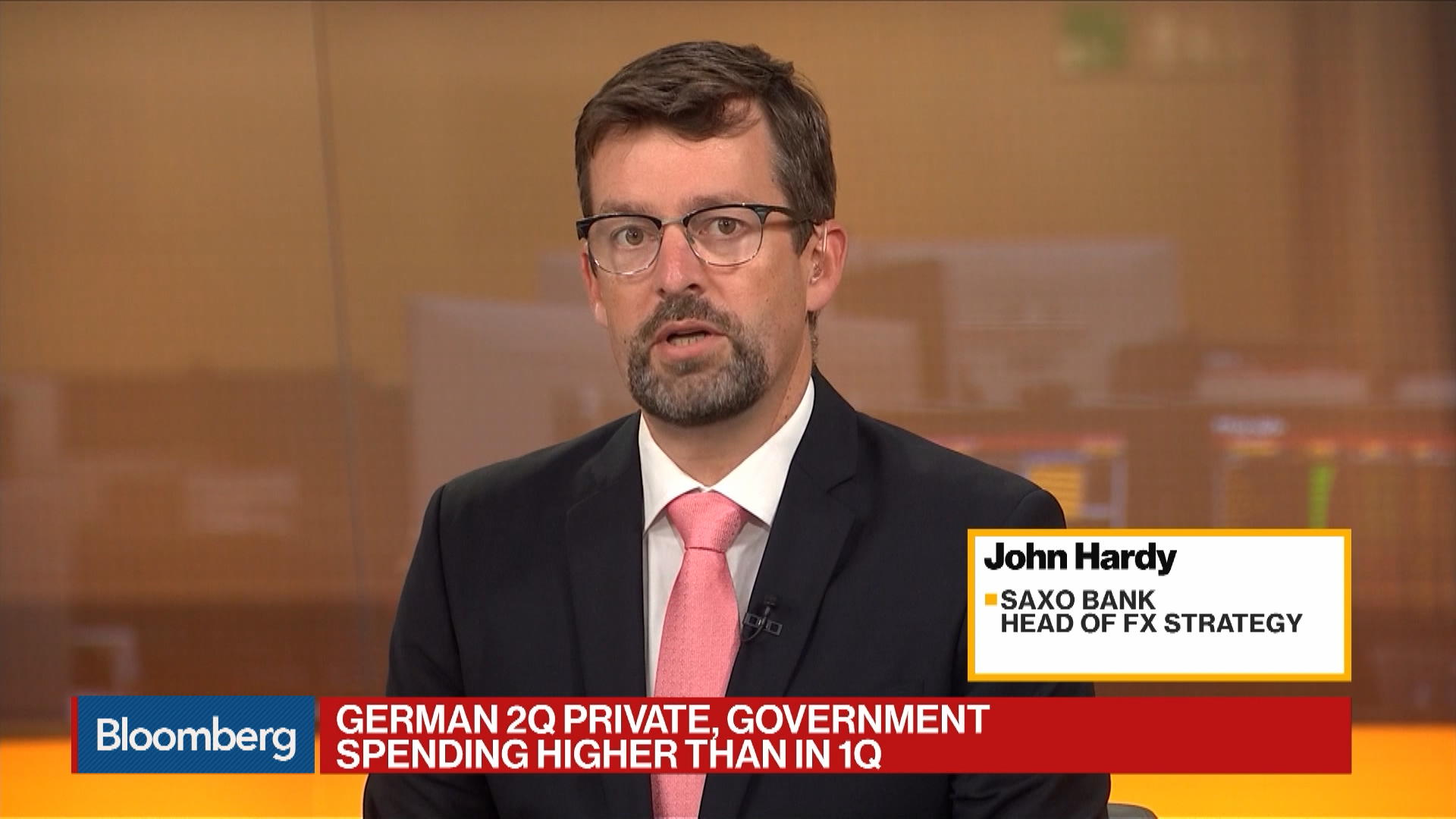 Saxo Bank Head of FX Strategy John Hardy on Germany GDP, Stimulus, Recession Risk