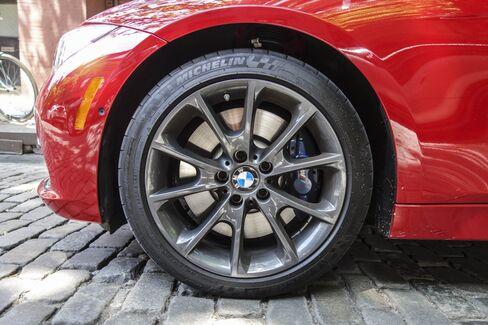 M-Sport brakes are optional.