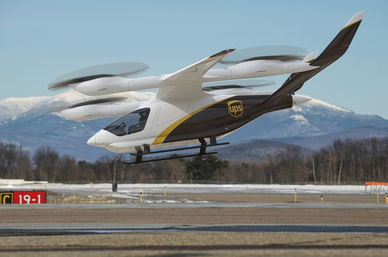UPS Bets on Electric Aircraft to Get Packages to the Hinterlands