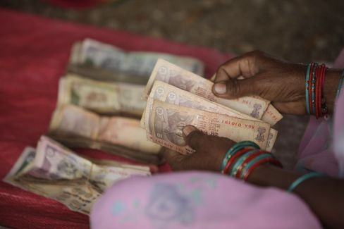 Rupee to Gain Fastest in '12 on Asia Inflow, Forecaster Says