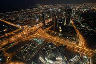 Dubai Skyline And Marine Property Development