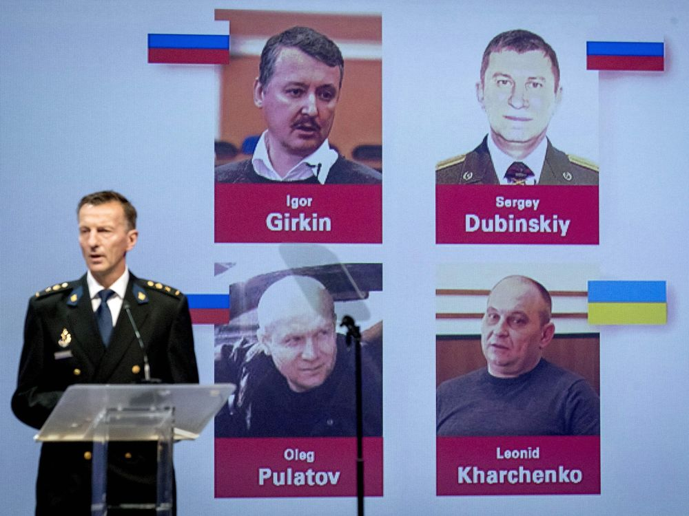 MH17 Investigators Charge Four Over 2014 Downing of Airliner