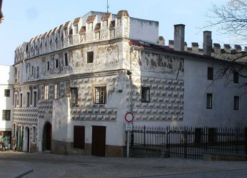 €425,000: The House of Geydl, built in 1557, is a Renaissance-style mansion with two apartments and a pastry shop.