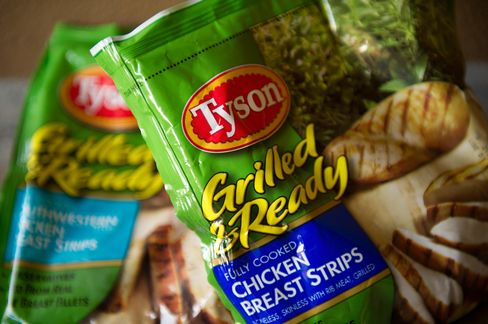 Tyson to Gain as Hen Flock Falls to 15-Year Low