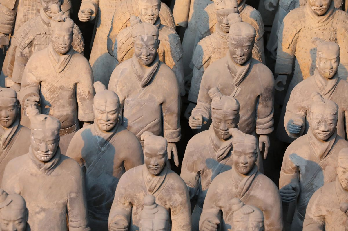 China Property Crackdown Hits Home of Famed Terracotta Warriors