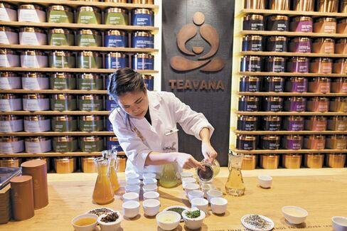 Starbucks's Teahouse Ambitions for Its Teavana Chain