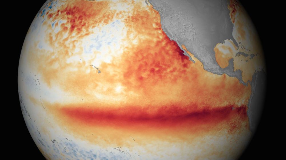 Heat Records Shatter as a Monster El Nino Gathers Strength