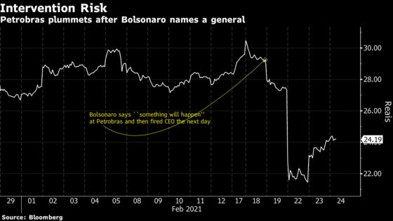Army General Running Petrobras Will Learn About Oil on the Job
