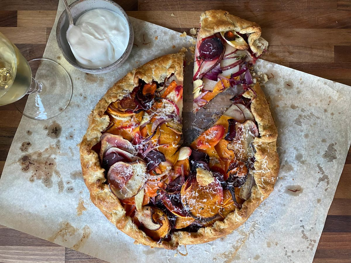 A Star Chef's Roast Vegetable Tart Solves Many Holiday Problems