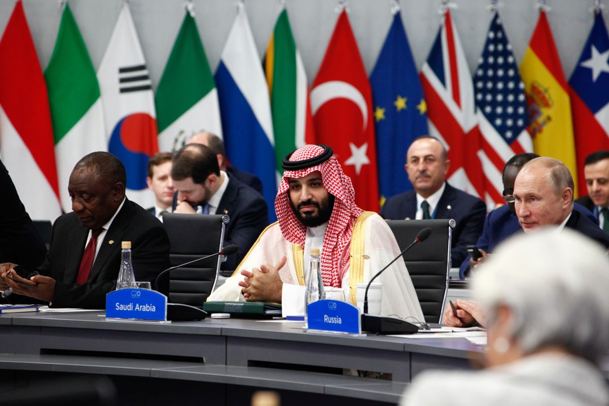 Saudi Prince Finds Both Friends and Disapproval at G-20 Summit