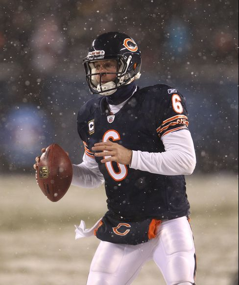 Jay Cutler #6 of the Chicago Bears