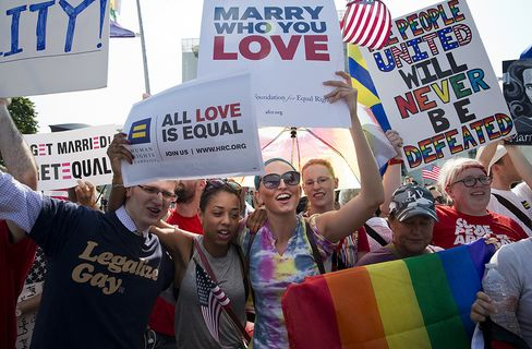 High Court Hinting Gay-Marriage Support Sends Dispute to States