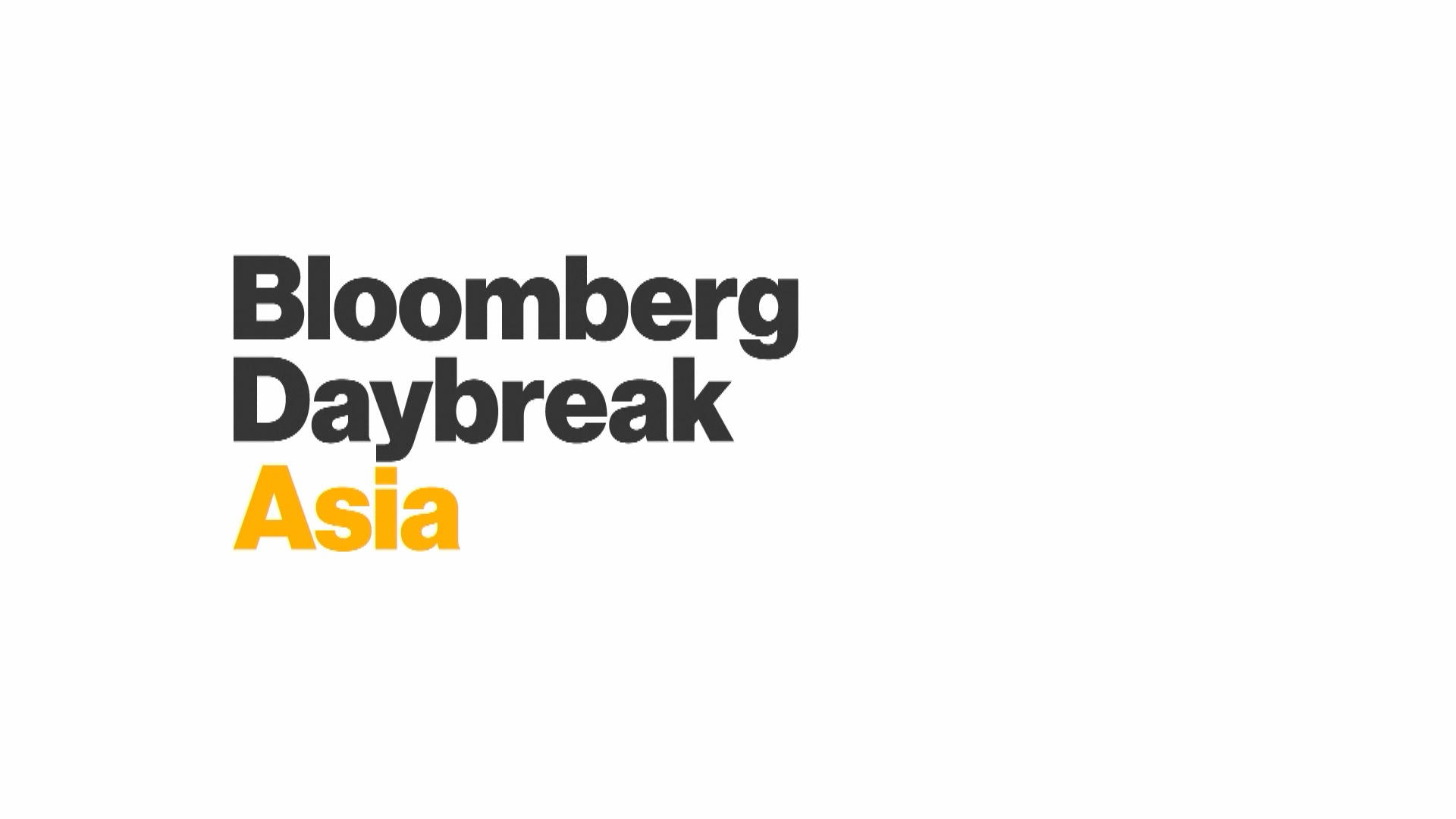 Bloomberg Daybreak: Asia - Full Show (01/15/2019) – Bloomberg