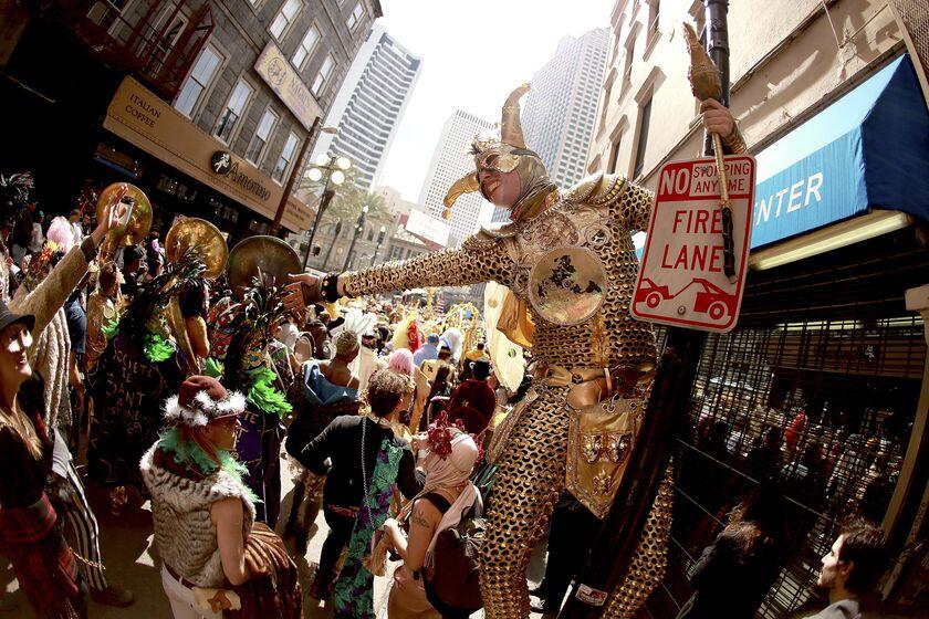 New Orleans Holds Annual Mardi Gras Celebration