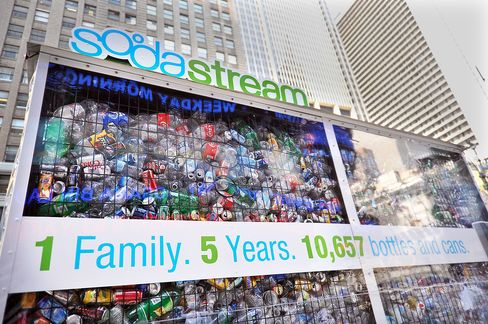 SodaStream Takes Landfill Marketing Tactic to Coca-Cola Hometown