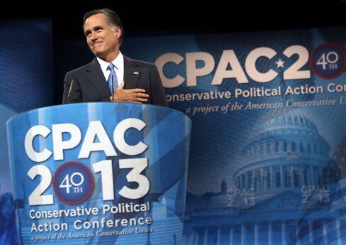 2012 Republican Presidential Nominee Mitt Romney