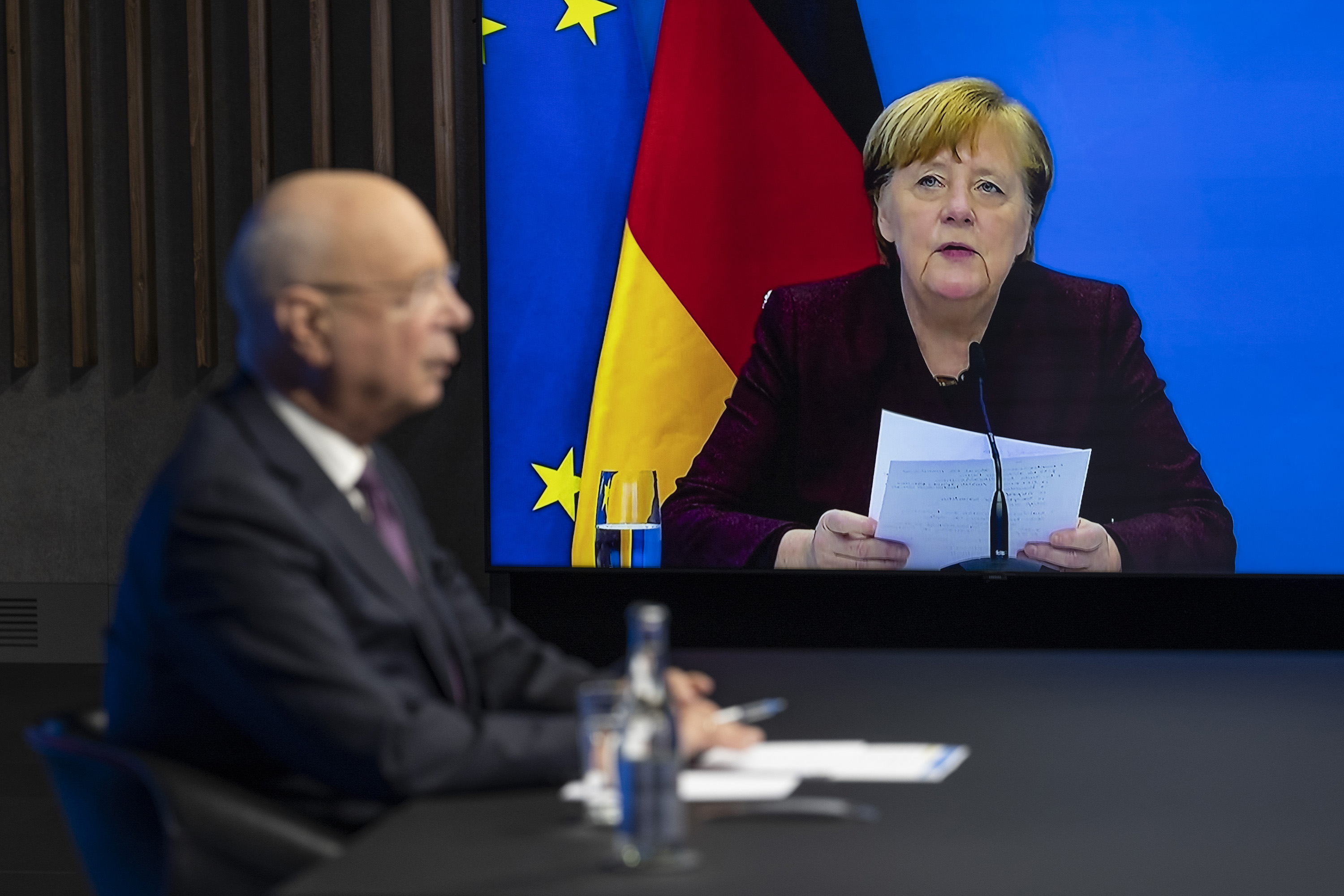 relates to Merkel Says Covid Shows World Must Return to Multilateralism