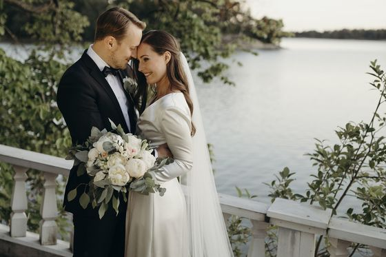 Finland's Millennial Leader Shows How to Marry in a Pandemic