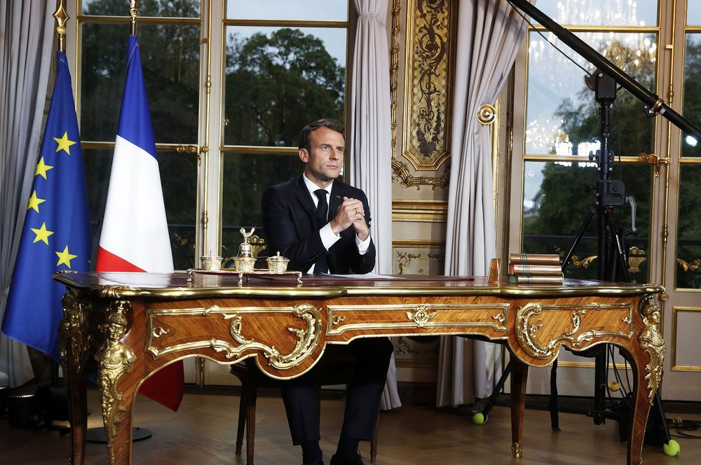 Macron Presides Over Rare Unity as Nation Grieves Notre Dame