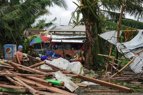 Typhoon Phanfone Kills at Least 16 People in the Philippines