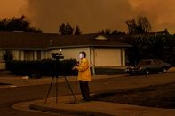 Massive Wildfire Spreads To 80,000 Acres, Scorches Homes Near Redding, CA