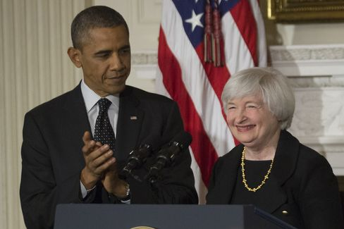 Janet Yellen Set to Be Named by Obama as First Female Fed Chairman